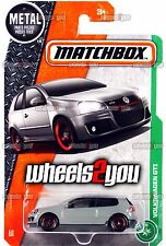 VOLKSWAGEN GTI #118 grey - 2017 Matchbox - H Case -