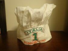 Chef Hat One Size Fits Most Italia Numero Uno