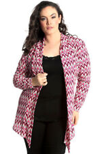 Polyester Striped Cardigans Jumpers & Cardigans for Women