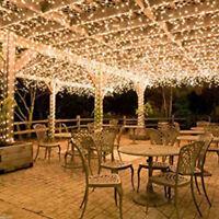 100led Energía Solar Cuerda Guirnalda luces interior exterior fiesta de Navidad