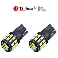 2x T10 30 SMD 3014 EX LED Extremely Super Bright White 194 168 2825 Lights Bulb