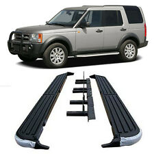 For 05-16 Land Rover LR3 LR4 Discovery-3 Aluminum Running Boards Step Side
