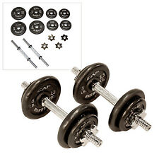 CAP Barbell 40 lb Adjustable Exercise Workout Weight Plates Press Dumbbell Set