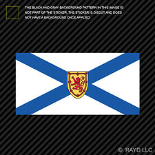 Nova Scotia Flag Sticker Decal Self Adhesive Vinyl Canada ns province