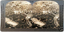 Keystone Stereoview an Aerial View of Boston, MA from 1930's T400 Set 394 Type A