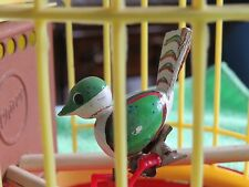 Vintage 1960's Wind up Chirpy the Bird Made in Western Germany
