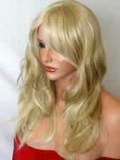 Women Wig Fashion medium natural full head wavy curly Blonde Ladies Wig sty K22