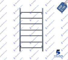 Round 6 Rung Bathroom Towel Ladder 900mm x 460mm Stainless Steel