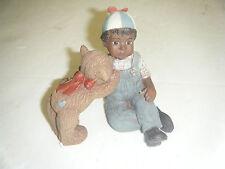 Sarahs Attic Child with Teddy Bear