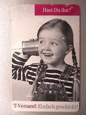 TELEKOM Telefonkarte 12 DM PD3 97 Mädchen T-Versand Katalog Reklame Gebraucht