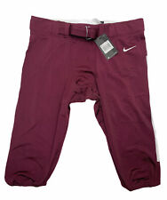 New listing Nike Mens 2XL Burgundy Vapor Pro State Football Pant Maroon White 845930 670 NWT