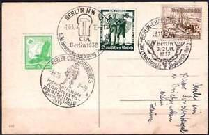 Foto AK SST. Berlin Marschall Pour le Mérite Werner v. Blomberg und Kanzler