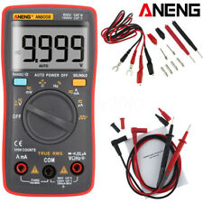 Aneng An8008 Digital Multimeter 9999 Counts Ac/Dc Resistanc Volt Test Meter