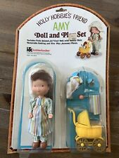 Vintage Knickerbocker Holly Hobbie Doll Play Set # 9874 (Amy) Baby Stroller