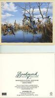 WOOD DUCKS MARSH REFLECTIONS AUTUMN NOTE CARD 1 GARDEN BOTANICAL FLOWERS CARD