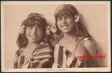 AK - LEHNERT & LANDROCK - Nr. 136 - Fillettes bédouines - HAREM - AFRIKA MAGHREB