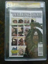 Image - Walking Dead Magazine 1 Midtown Michhone CGC 9.8 White Pages SS Kirkman