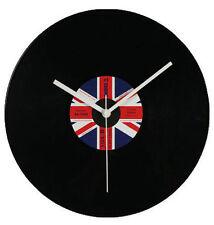 Orologio da muro LP 30 cm disco in vinile bandiera britannica UK Idea regalo
