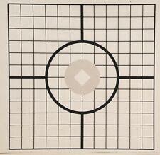 15 Paper Target SHEETS ¤ Rifle Sighting ¤ Pistol ¤ Quick Ship ¤ Guns ¤ Shooting