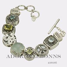 Authentic Lori Bonn Silver The Free Spirit Bracelet 410105