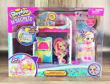 *NEW* Shopkins Lil' Secrets Exclusive Set Rainbow Kate's Bedroom Hideaway