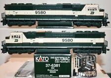 Burlington Northern 9580 SD70MAC Executive Kato HO  37-6381 F26.3