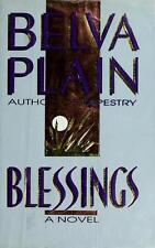 Belva Plain / Blessings 1989 Romance Hardcover