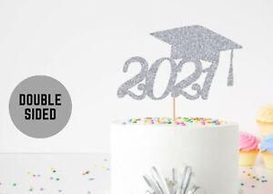 Graduation Cake Topper Class of 2021 Graduating Celebration