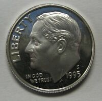 1995-S Proof Silver Roosevelt Dime Shipped FREE Best Prices on Ebay Nice Coins!
