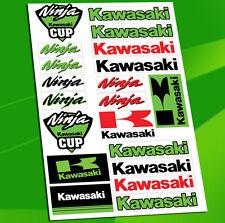21 Autocollants Planche Auto Moto Vinyle Motard Stickers Scooter Kawasaki D 29