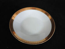 Vintage Noritake Milton China YOUR CHOICE White w/ Gold Band Red Triangles Lines
