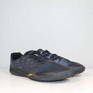 Merrell Trail Glove 4 Running Shoes J09673 Men's Size 9 / EUR 43 Black Blue