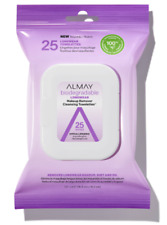Almay Biodegradable Longwear Makeup Remover Cleansing Towelettes 25 Wipes