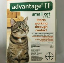 Bayer Advantage Ii For Cats 5 - 9 lbs 2 Month Supply Epa Approved Damaged Box