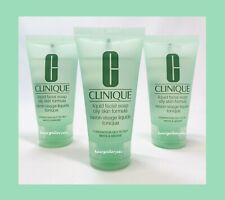 3 CLINIQUE Liquid Facial Soap OILY SKIN FORMULA COMBINATION OILY TO OILY 1oz