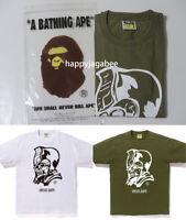 A BATHING APE Men's URSUS BAPE SKULL TEE 2colors Japan New
