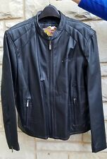 WOMEN'S HARLEY DAVIDSON BLACK LEATHER JACKET SIZE 2W RN 103819 NEW WITHOUT TAGS!