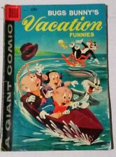 Bugs Bunny Vacation Funnies #9 1959 Dell Giant