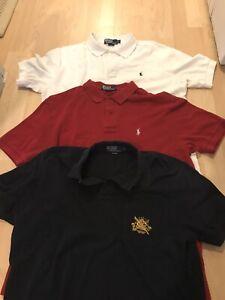 Polo Ralph Lauren Mens Shirt Large Lot