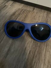 BABIATOR GRAPHITE Blue POLARIZED Infant SUNGLASSES Used