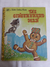 The Gingerbread Man, Illustrated by Elfrieda - Little Golden Book, Western 1977