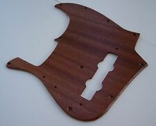True Custom Shop® SAPELE WOOD Pickguard For FENDER '75 JAZZ BASS GUITAR 1975 RI