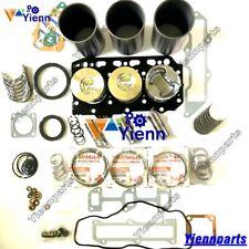 3TNE78AC 3TNE78 Overhaul Rebuild Repair Kit For Yanmar engine Kobelco SK025 Z63