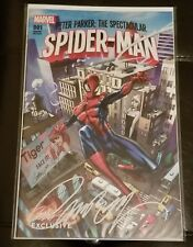 PETER PARKER:THE SPECTACULAR SPIDER-MAN #1 J SCOTT CAMPBELL VARIANT SIGNED A