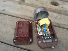 Vintage Soviet Russian Ussr Manufacturing Loud Ring Bell