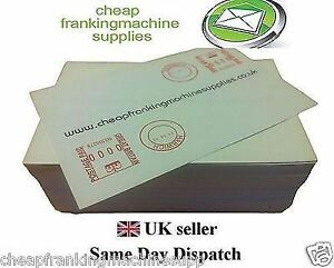 1000 Multi-use Franking Labels DOUBLES - NEOPOST QUADIENT Pitney Bowes FP Frama