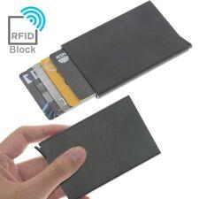 RFID Blocking Aluminum Slim Wallet ID 6 Credit Card Holder Case Protector Purse