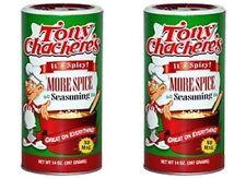 2 PK GIGANTIC TONY CHACHERE'S MORE SPICE CAJUN SEASONING 1.5 LBS recipe