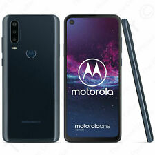 "Gsm Unlocked Motorola One Action - 128Gb - Denim Blue 6.3"" Full Hd Single Sim"