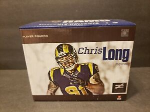 New In Box Chris Long St. Louis Rams Figurine 2013 Stadium Give Away
